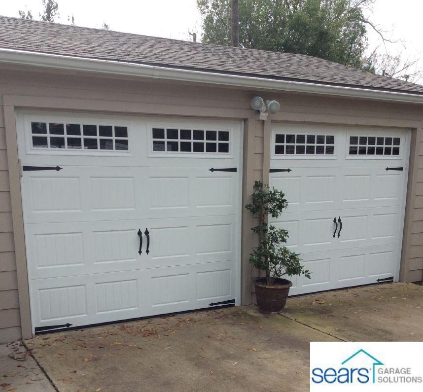 Pin By Sears Garage Solutions On Double 8x7 Garage Door Replacement Best Garage Doors Broken Garage Door Garage Doors
