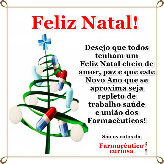 Farmacêutica Curiosa: Feliz Natal!