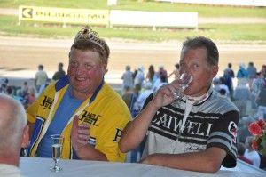 Finnish top sportsmen: Pertti Puikkonen & Ari Moilanen - trotting racers