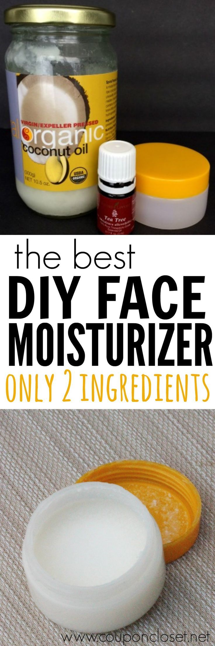 Diy face moisturizer best homemade face moisturizer moisturizers you have to try this diy face moisturizer with only 2 ingredients i know you solutioingenieria Gallery