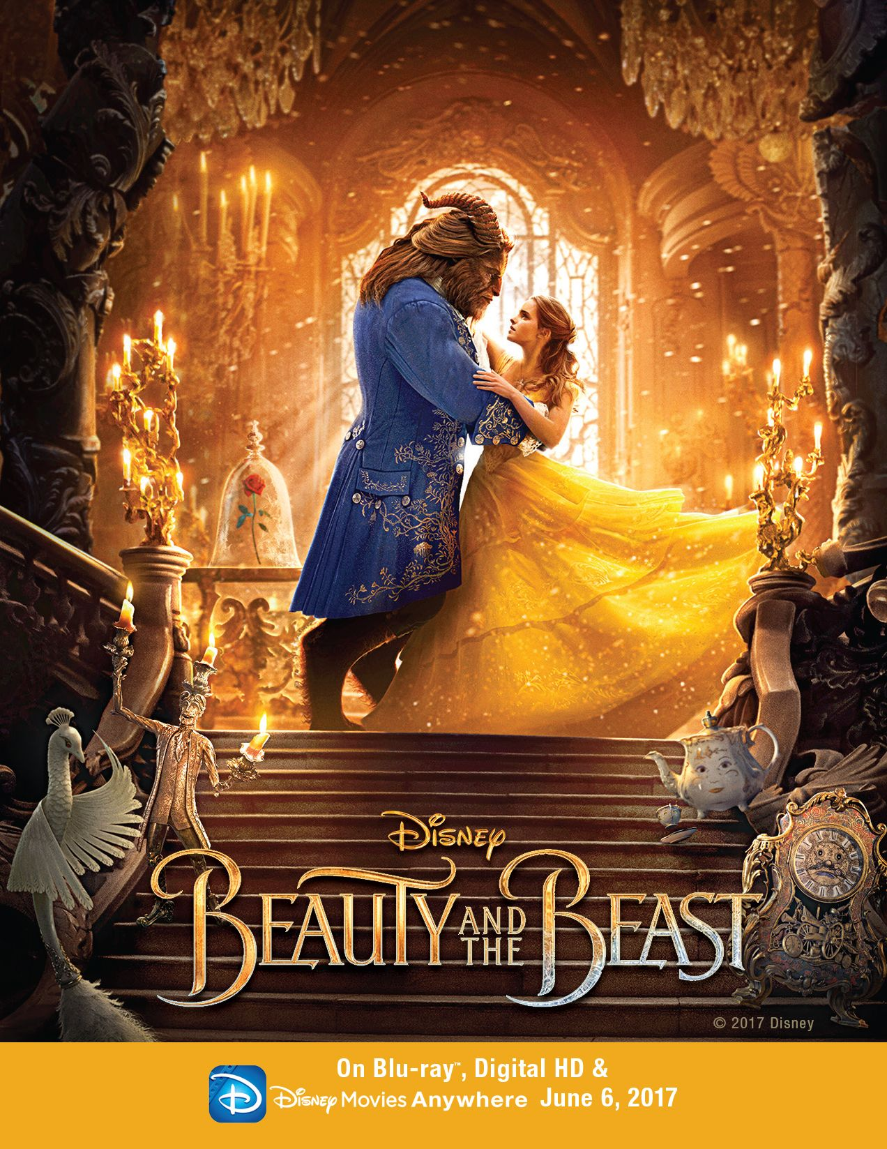 beauty & the beast digital hd giveaway | disney giveaways