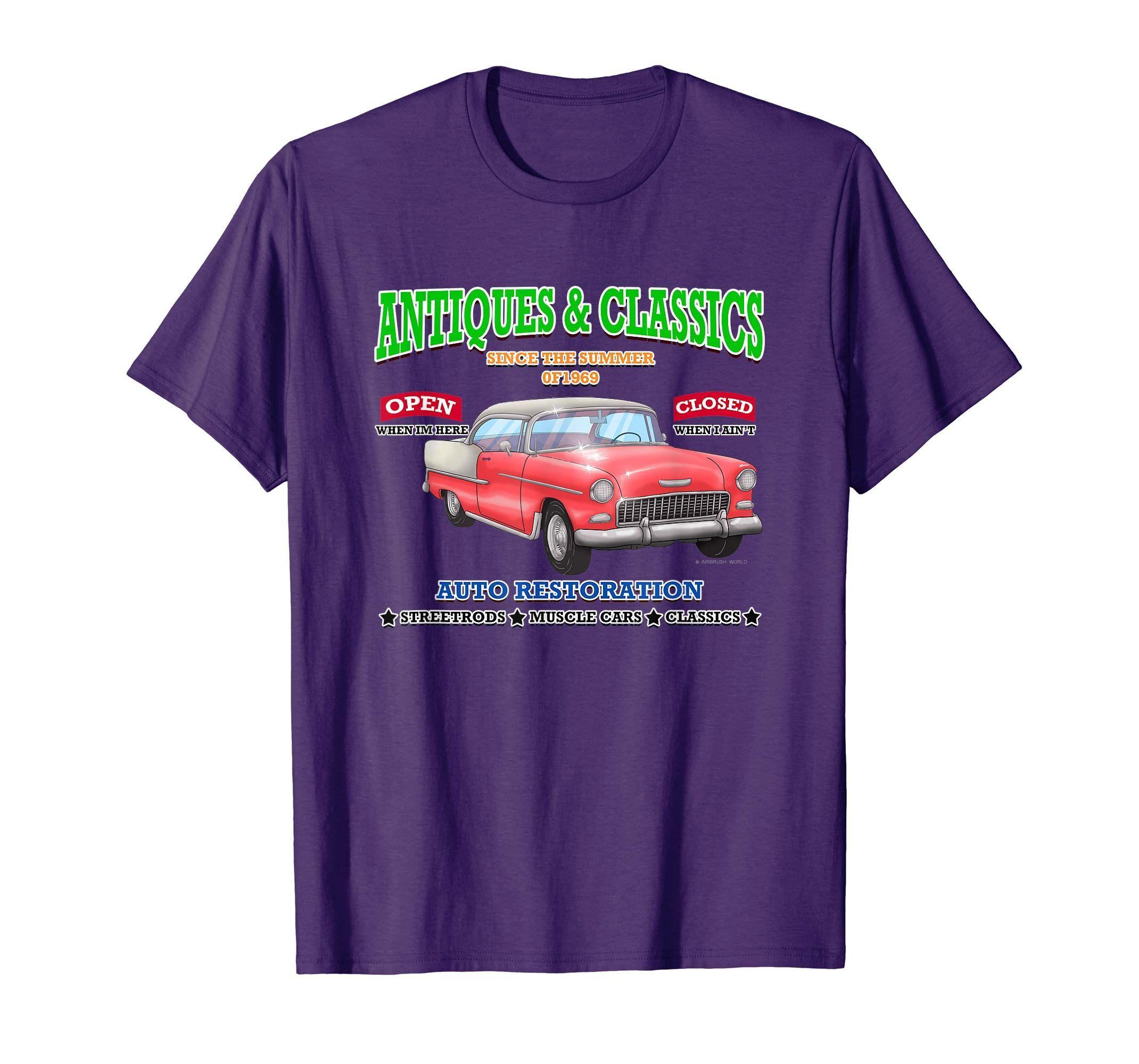 Hot Rod Classic Car Lustiges Vatertags T-Shirt Neuheit Geschenk-Yolotee