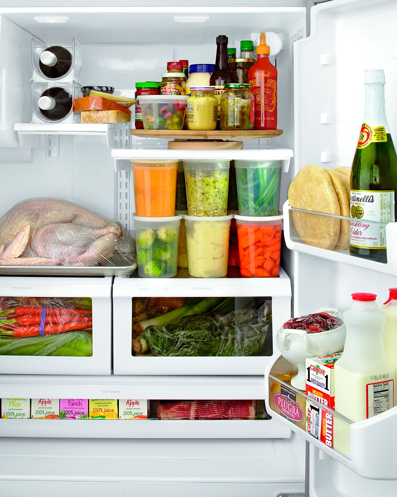Organize Your Kitchen Cabinets In Nine Easy Steps In 2020 Small Fridges Hosting Thanksgiving Homekeeping