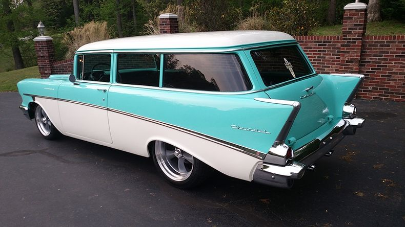 57 Handyman Wagon Custom Cars Paint 1957 Chevrolet Chevy