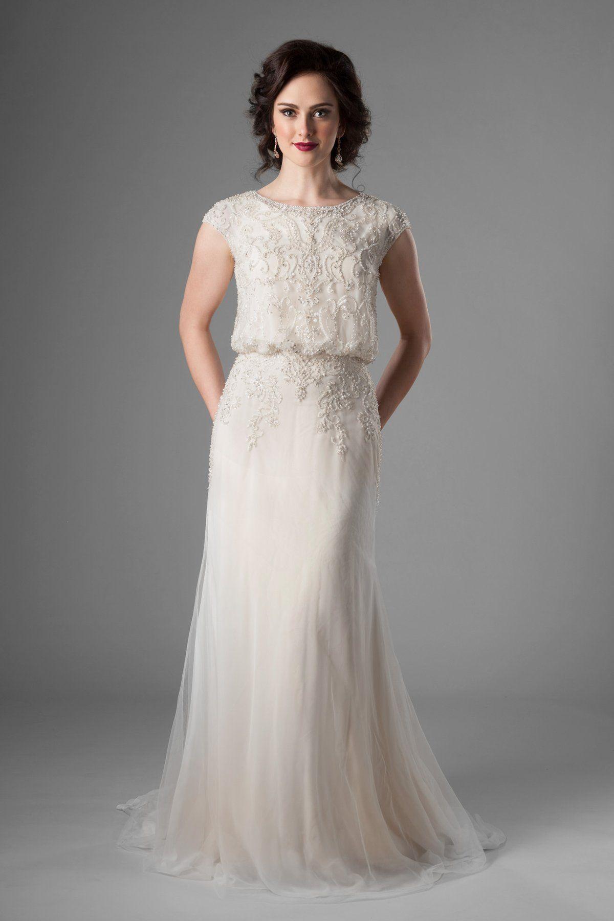 Wedding dresses, Modest wedding gowns