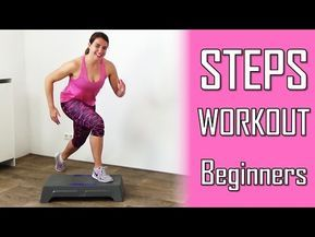 20 minute steps workout routine for beginners  stepper