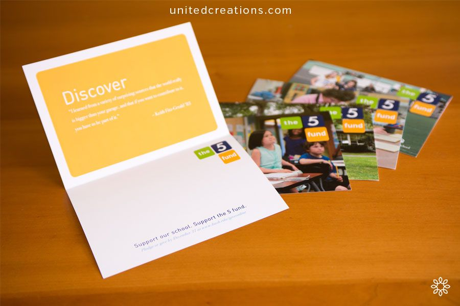 Brochure Design by United Creations, a Brand Powered Marketing Firm