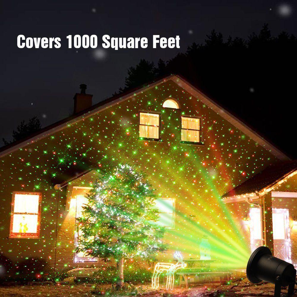 En plein air pelouse lumi re laser ciel toil projecteur spectacle de lumi re paysage for Projecteur lumiere maison