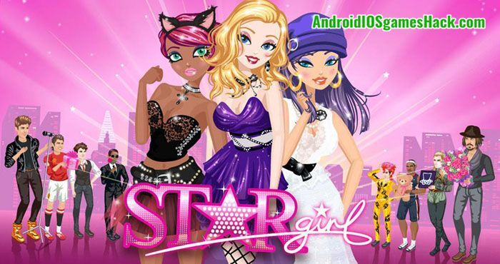 Star Girl Hack Unlimited Money And Gems Diamonds Androidiosgameshack Star Girl Fashion Games For Girls Fun Fashion Games