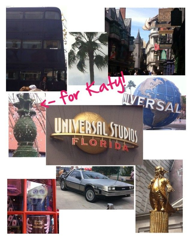 """""""I'm In Universal Studios, Florida!"""" by snickerfilled ❤ liked on Polyvore featuring art"""
