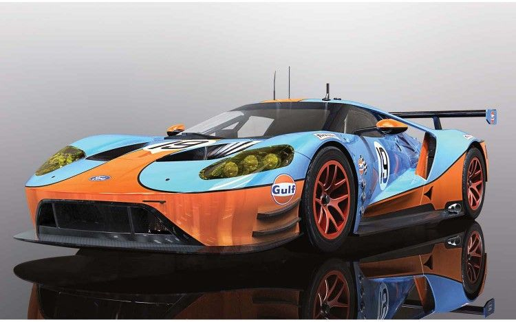 Scalextric C4034 Ford Gt Gte Gulf Edition Ford Gt Ford Mclaren F1