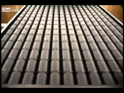 DIY Solar Heating Panel, Which Uses Old Soda Cans To Collect And Transfer  The Sunu0027s Energy Into Your House U003d FREE HEAT. | Projects To Try | Pinterest  ...