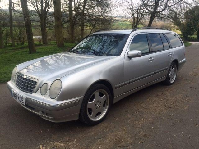 Mercedes E240 Elegance 7 Seater Estate With 12 Months Mot Cheap