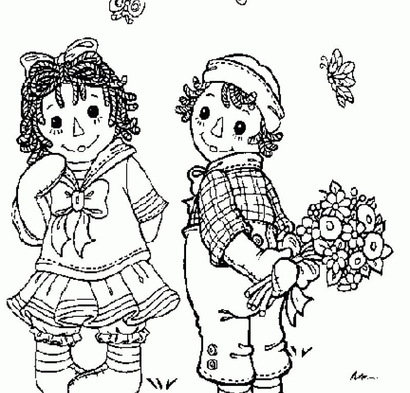 Raggedy Ann And Andy Coloring Pages - HD Printable Coloring Pages ...