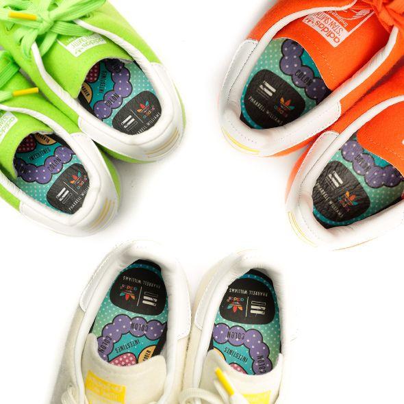 adidas x Pharrell Williams 'Tennis Pack' Stan Smith