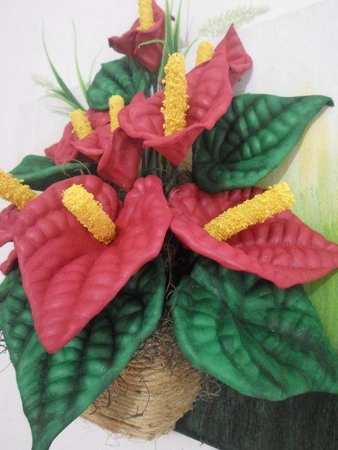50 Flores De Eva Modelos Imperdiveis E Tutoriais Diy Flores Em