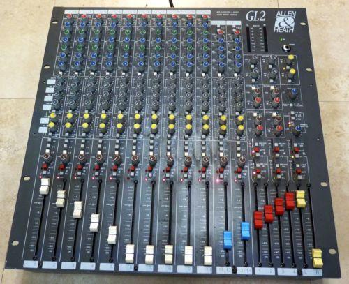 Allen Heath Gl2 Audio Mixing Console Compact Rackmount Mixer