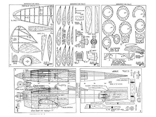 Dewoitine D-500 - plan thumbnail