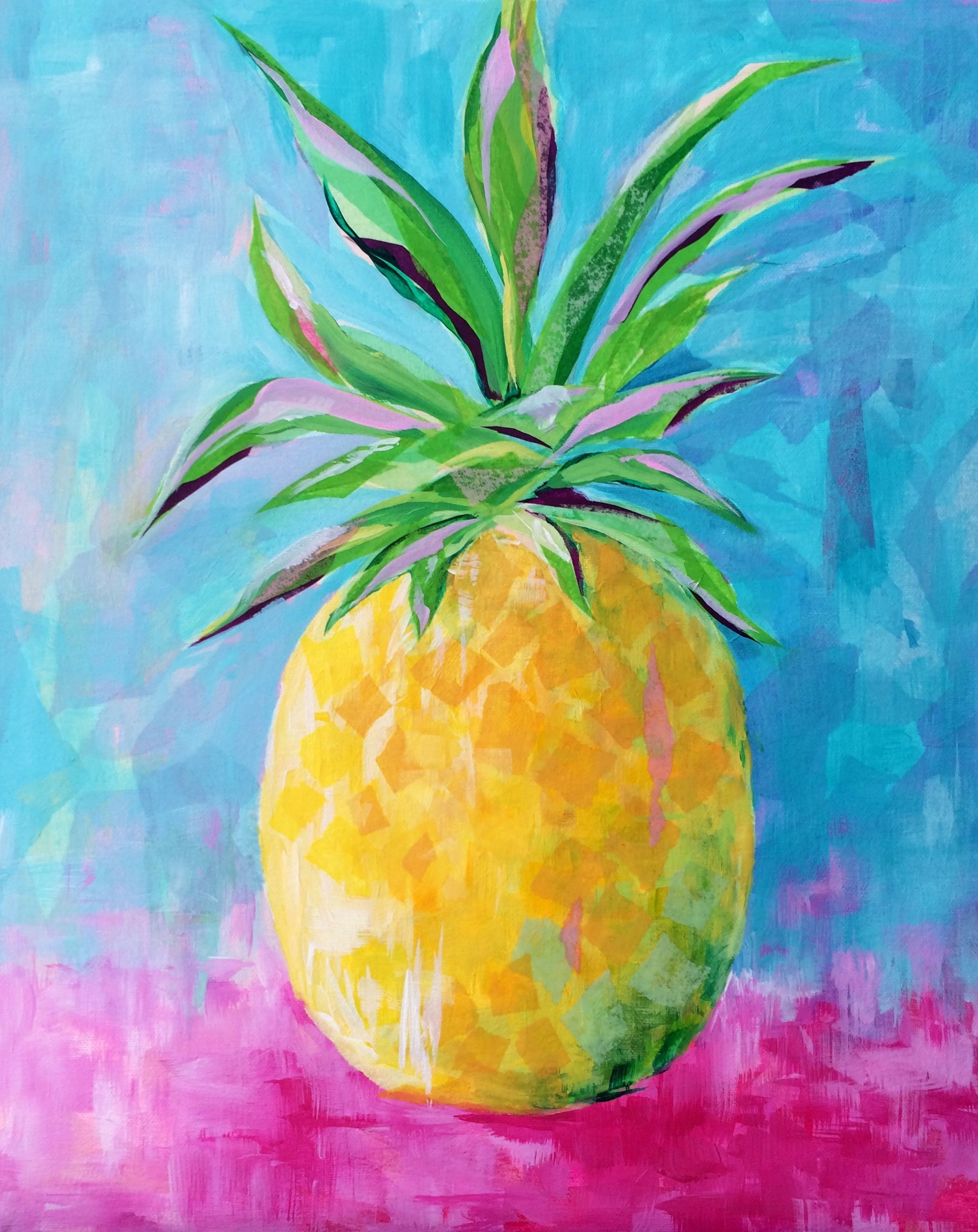 Pineapple by Susan Pepe www.susanpepedesigns.com | Art for Oopsy ...