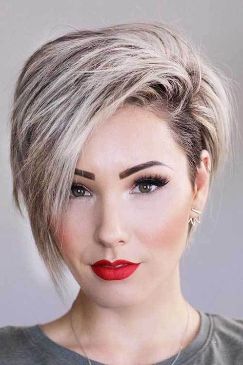 17 More Fresh Layered Short Hairstyles For Round Faces 5