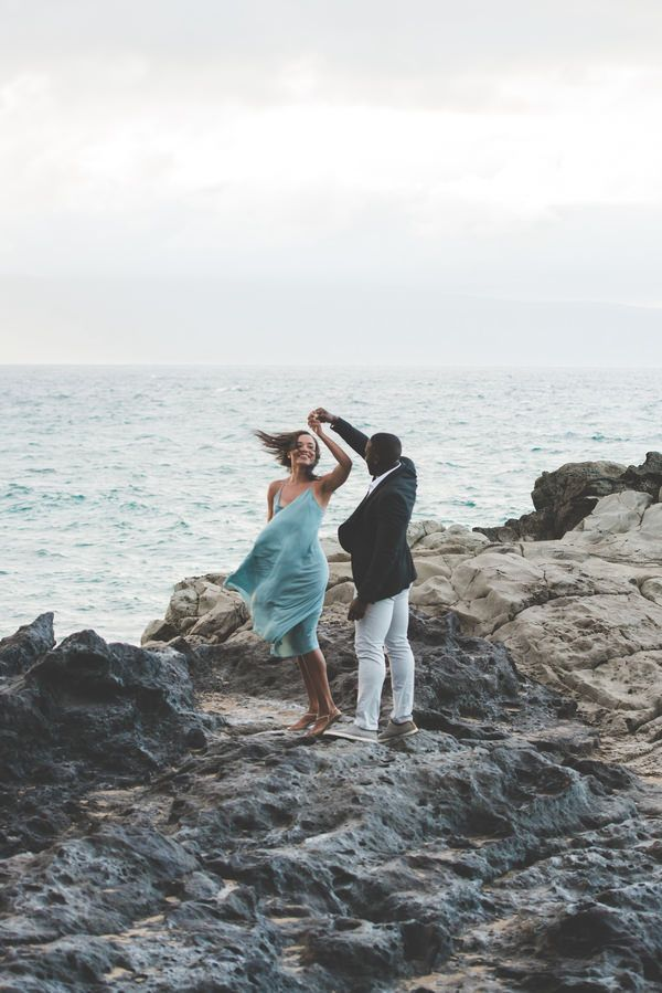 Chelsea & Yaw's Romantic Sunset Engagement http://justbridalbeauty.com/real-life/e-sessions/chelsea-yaws-romantic-sunset-engagement/
