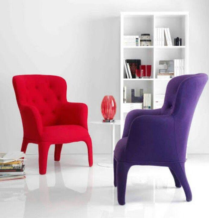 Atrevete a usar colores fuertes en los muebles