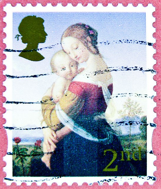 love this stamp from UK