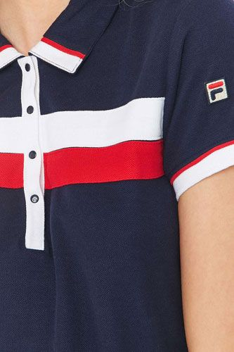 90fa6264d2465 Urban Outfitters x Fila Serena 1980s-style polo dress | SP 2 2019 ...