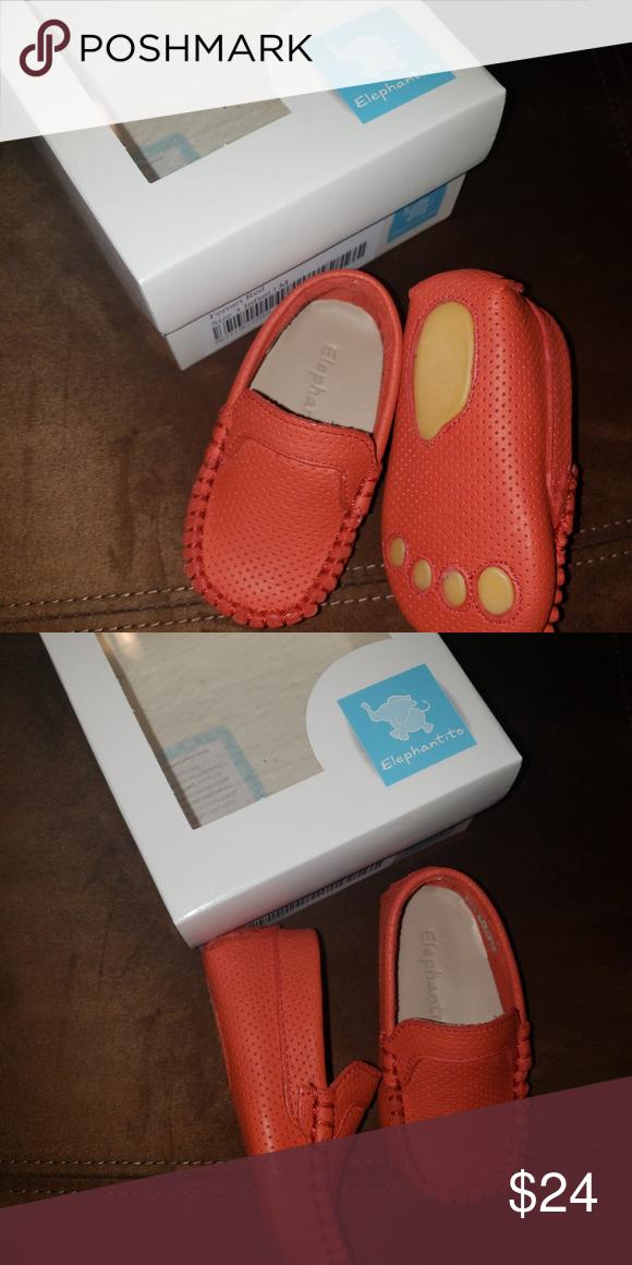 Elephantito Baby Shoes Moccasins 3 NWT