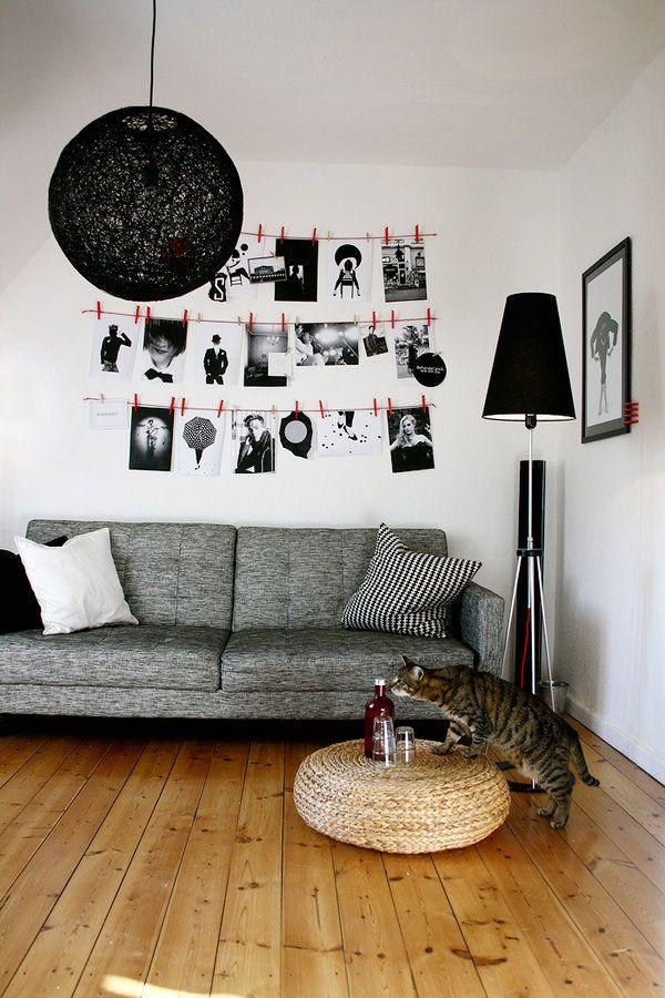 Bilderwand Bilderwand, Inneneinrichtung und Poster - dekorationsideen wohnzimmer bilder