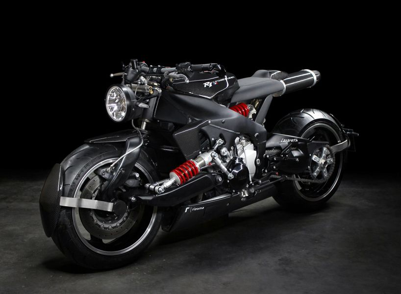Lazareth Back To The Future Yamaha Yzf R1 Custom Motorcycle Designboom