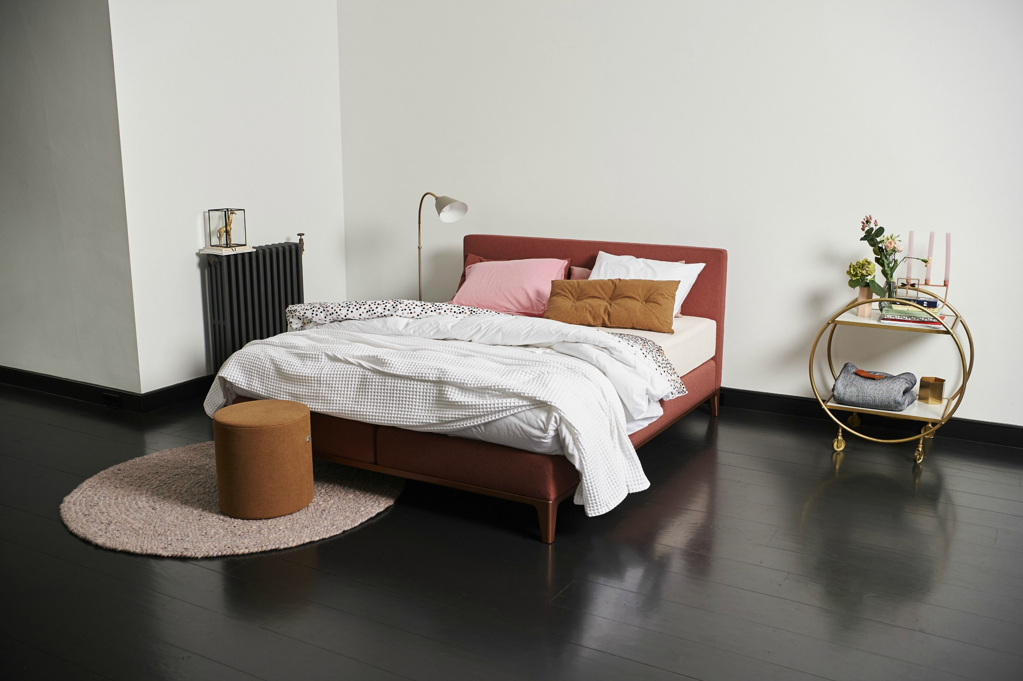 boxspringbett criade mit dem kopfteil plain der blickfang in ihrem schlafzimmer wundersch nes. Black Bedroom Furniture Sets. Home Design Ideas