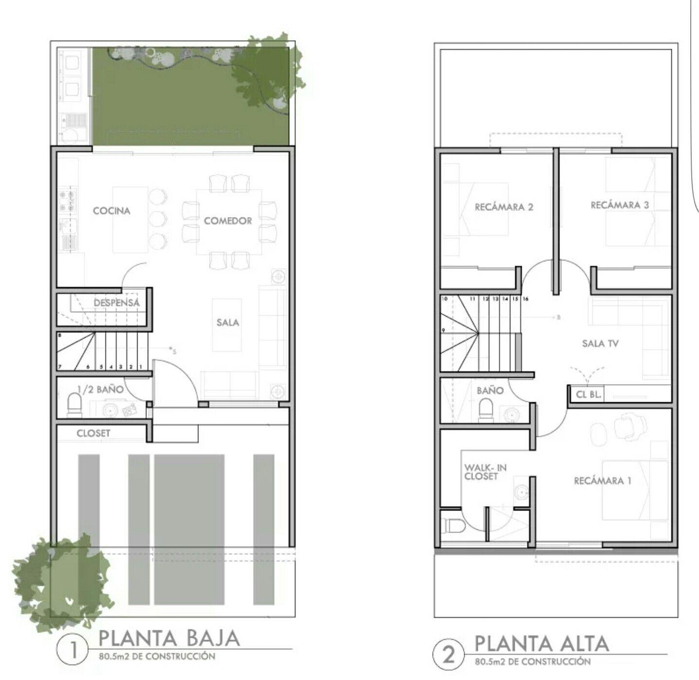 Pin de julius chesang en kitengela en 2019 house plans - Planos casas de una planta ...