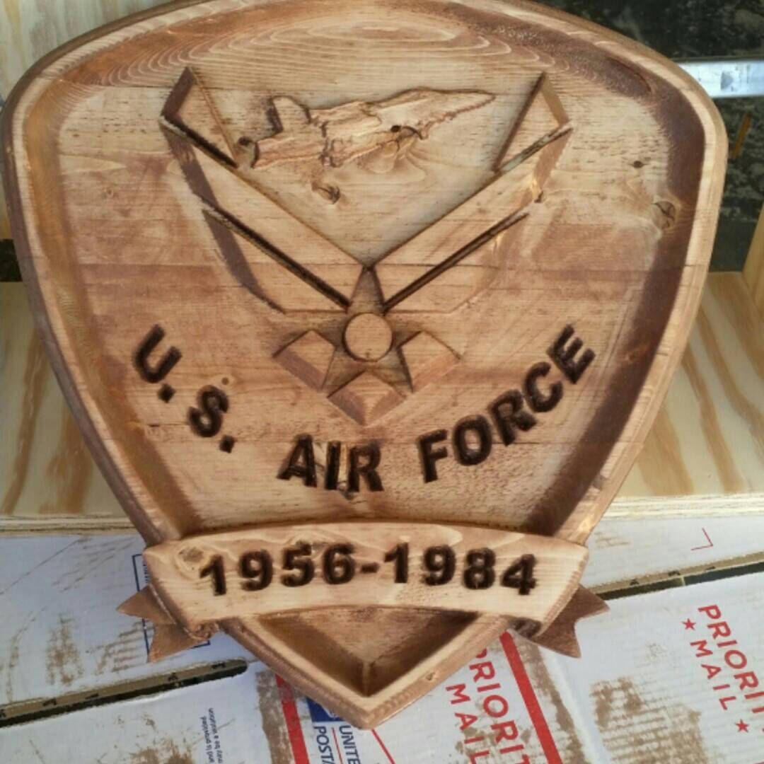Custom US Air Force plaque (With images) Air force