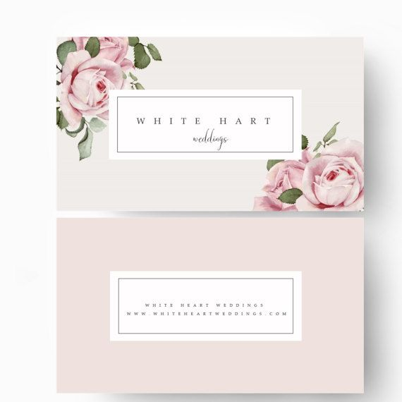 Business Card Template Modern Business Card By Stylishcreativeshop