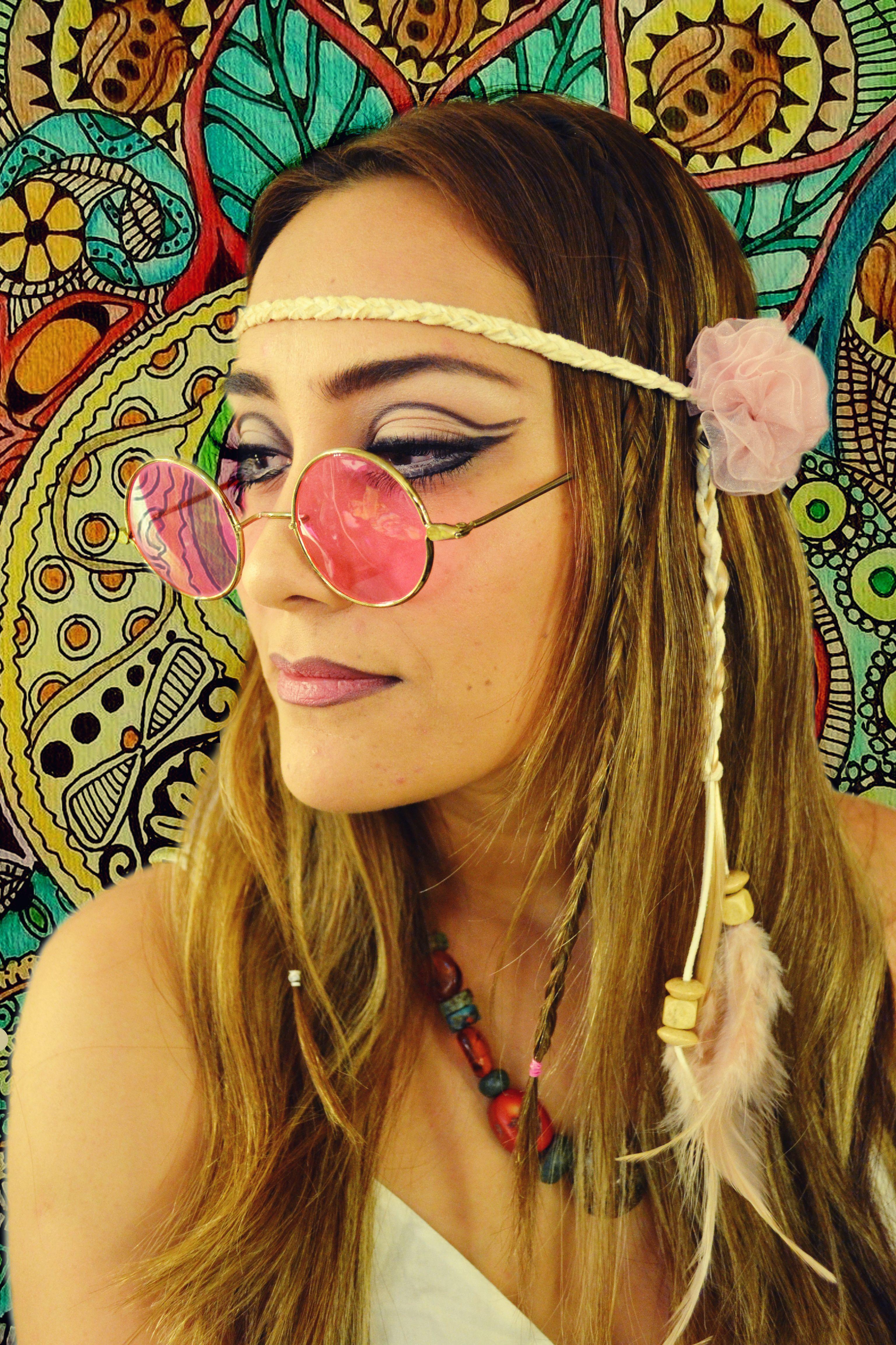 maquillaje hippie � makeup hippi�