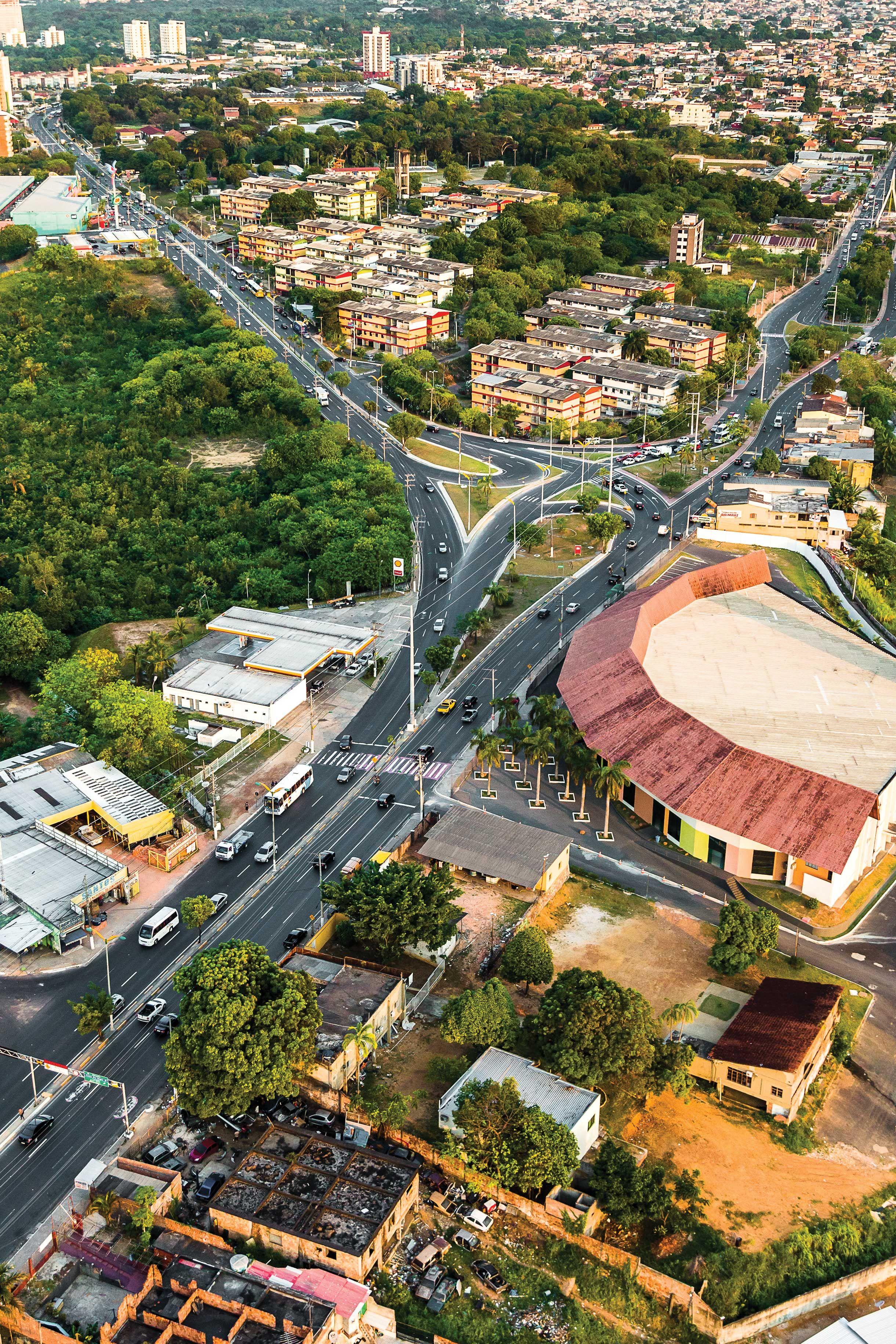Avenida Coronel Teixeira E Brasil Instituto Durango Duarte Em