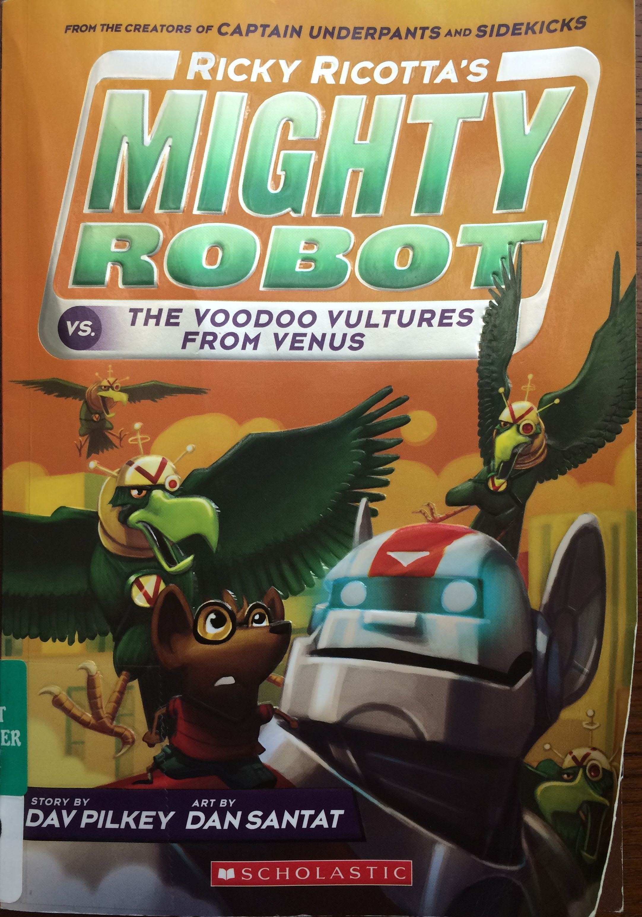 My son loves this series start with book 1 other book