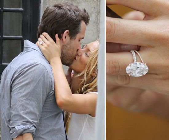 Anna Camp Blake Lively Engagement Ring Celebrity Engagement Rings Engagement Ring Pictures