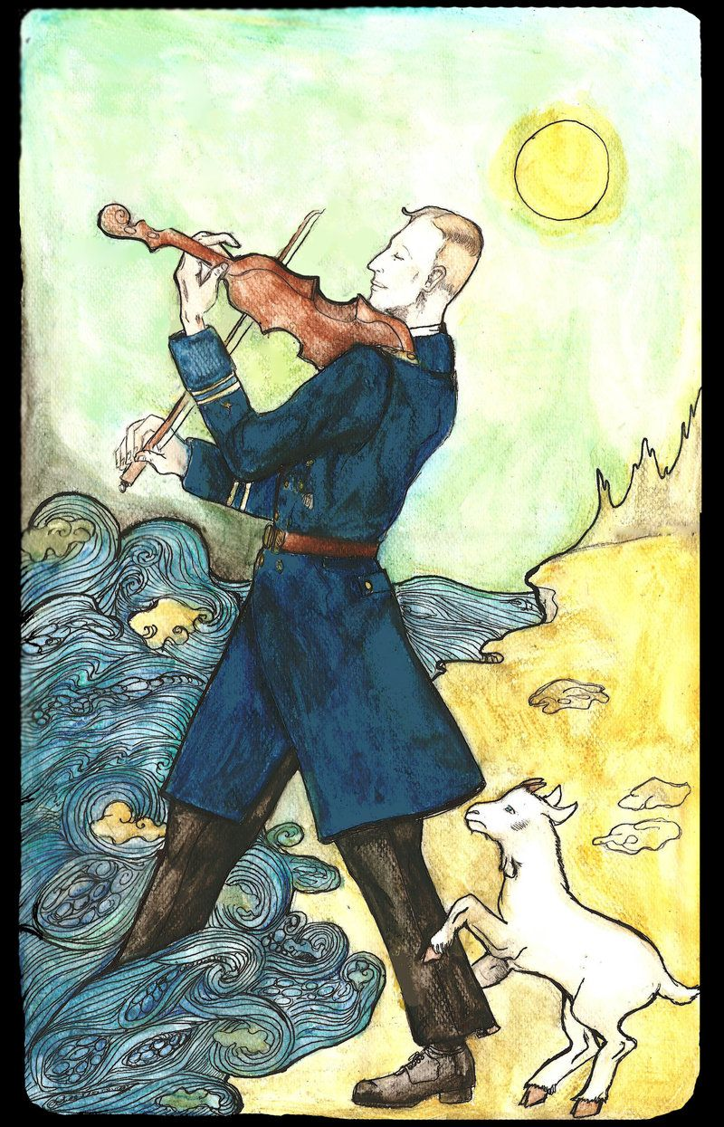 "Fool From The Universal Waite Tarot: Psalm 14:1: ""the Fool Hath Said In His Heart, There Is No"