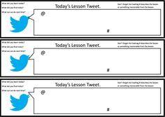 Tweet Pupil SelfAssessment  A Simple Student SelfAssessment