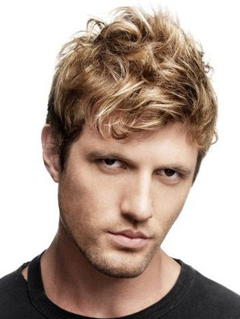 Bed Head Style Google Search Men Blonde Hair Haircuts For Men Thick Wavy Hair