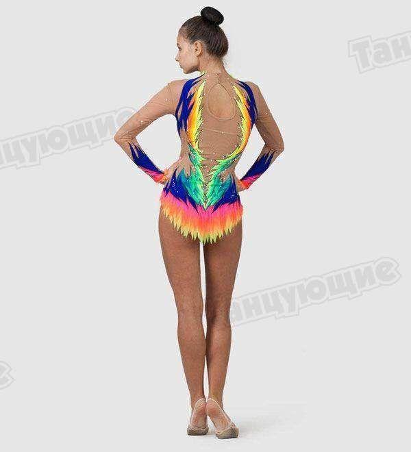 6bf3539fa Competition Rhythmic Gymnastics Leotard Avatar — Gymnastics ...