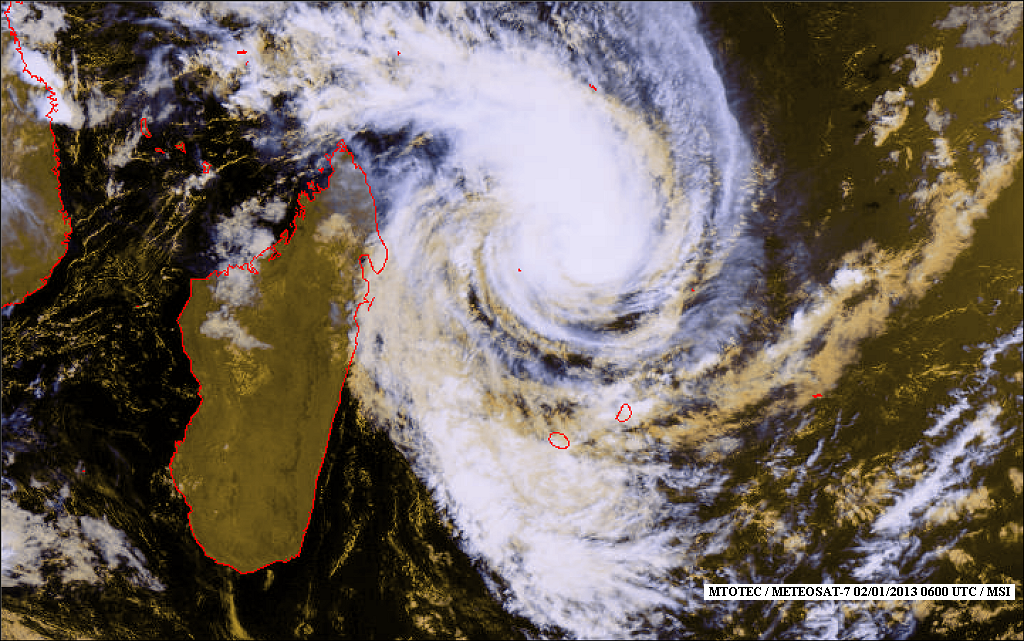 Cyclone Dumile Mauritius – Forecast and Updates