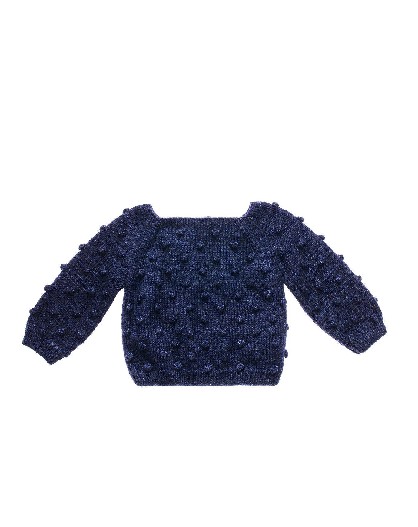 Misha and Puff Popcorn Sweater in Ink