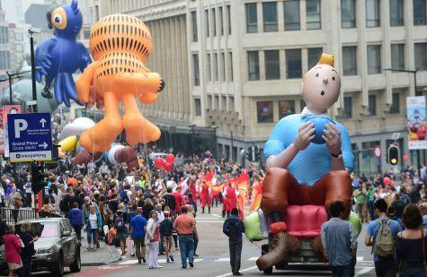 Balloon's day Parade à Bruxelles