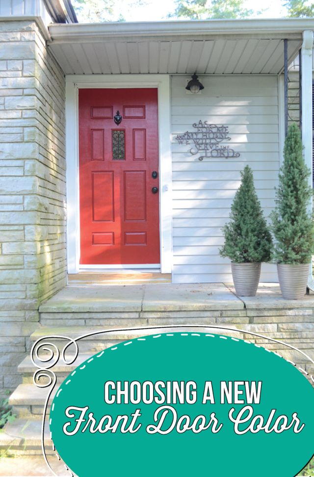 Charmant Choosing A New Front Door Color   Set Apart Designs Www.