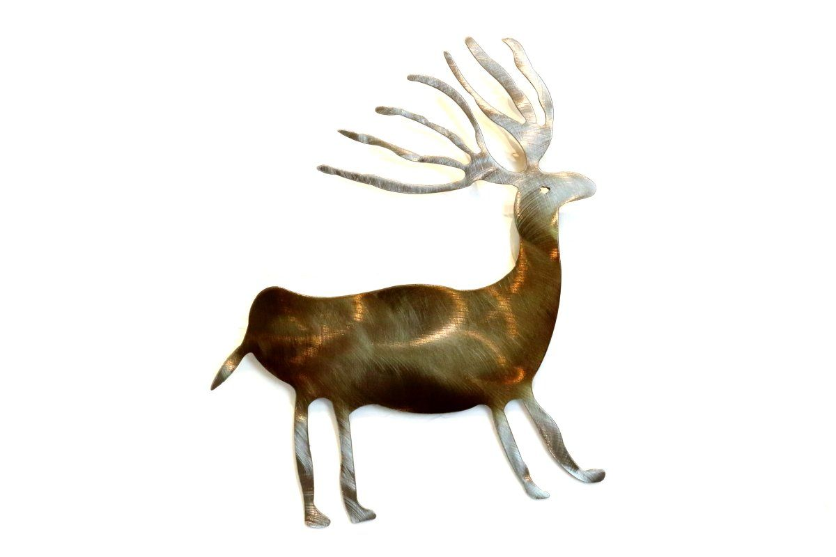 Deer wall art deer wall art walls and steel