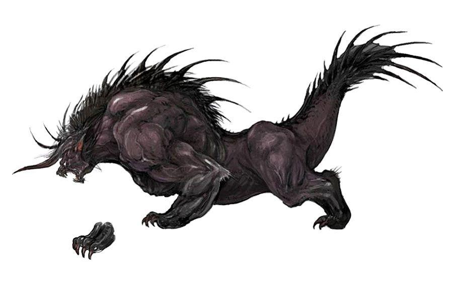 Behemoth from Final Fantasy XIV: A Realm Reborn | Creature