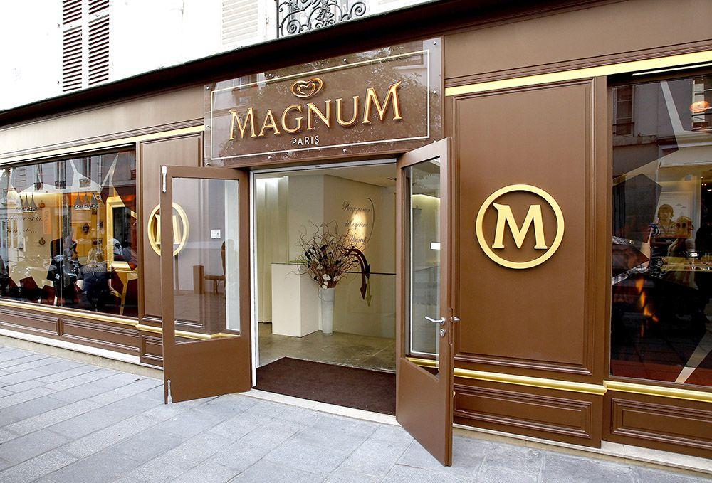 magnum ouvre une boutique ph m re paris sus aux glaces. Black Bedroom Furniture Sets. Home Design Ideas